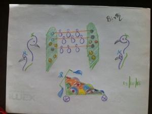 drawing made by Vijay